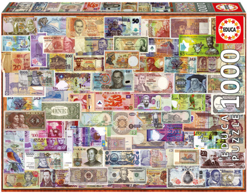 World Bank Notes 1000 Piece Jigsaw Puzzle, Educa