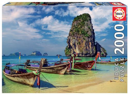 Krabi, Thailand 2000 Piece Jigsaw Puzzle, Educa