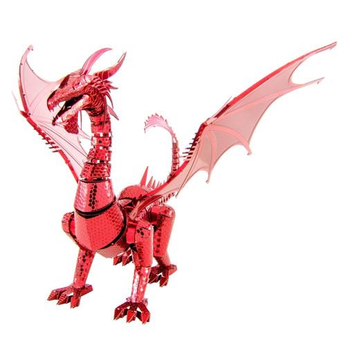Iconx Red Dragon Metal Model Kit