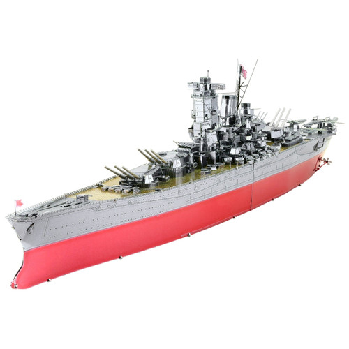 Iconx Yamato Battleship Metal Model Kit
