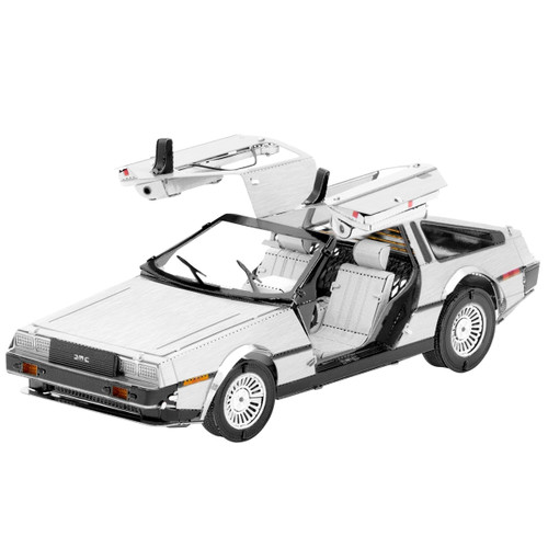 DeLorean Metal Earth Model Kit