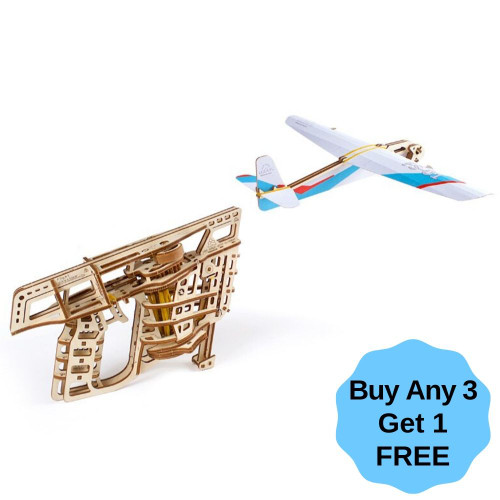 Flight Starter Mechanical Wooden Model Kit | UGears