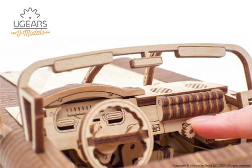 Dream Cabriolet VM-05 Mechanical Model Kit | UGears
