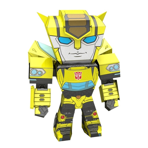 Miniature Bumblebee Caricature Full Color Transformers Metal Earth Model