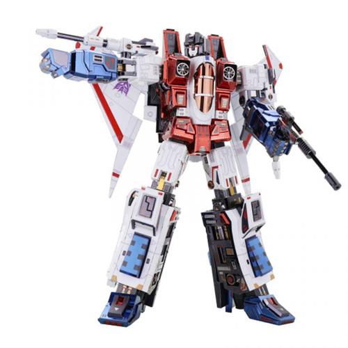 Starscream G1 Transformers DIY Metal Model Kit | MU Model