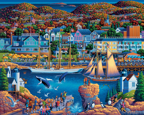 Acadia: 500 Piece Classic Wooden Jigsaw Puzzle | Dowdle Puzzles