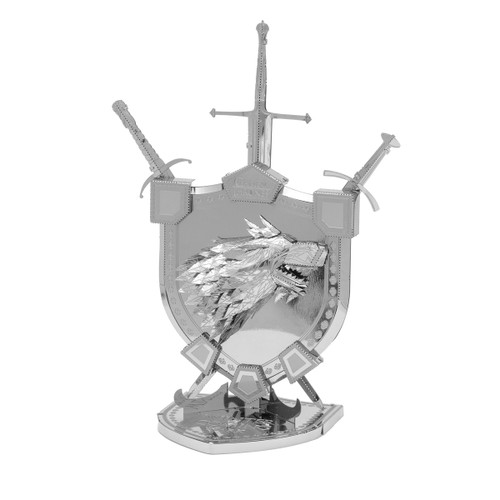 House Stark Sigil - Game of Thrones Iconx Metal Model Kit
