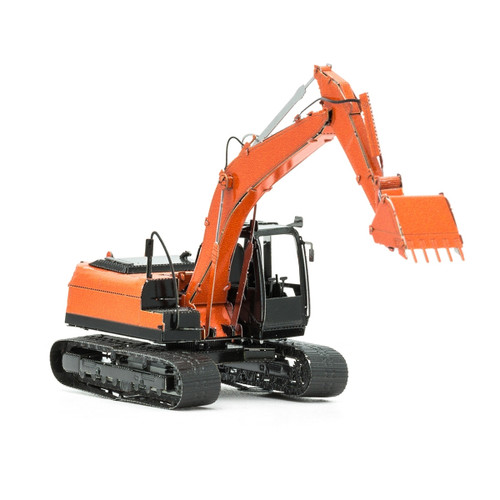 Excavator Metal Earth Model