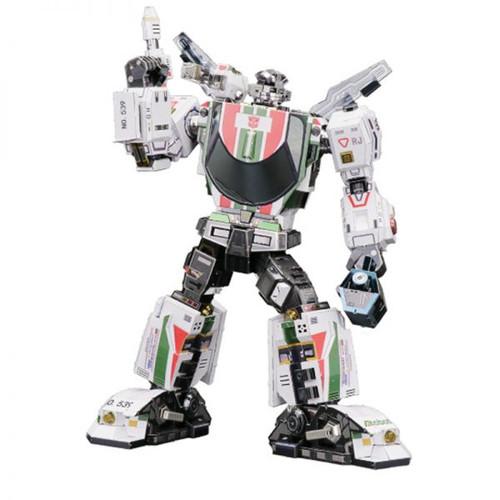 WheelJack G1 Transformers DIY Metal Model Kit | MU Model