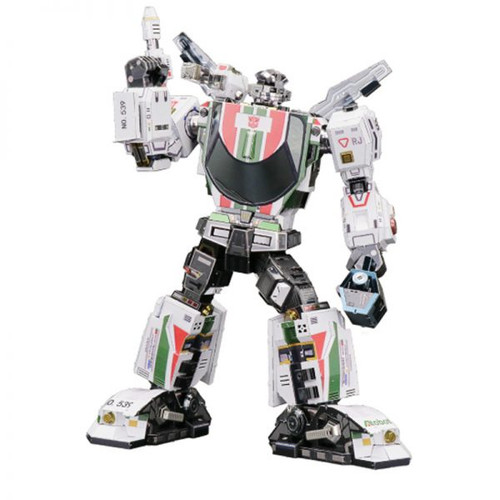 WheelJack G1 Transformers DIY Metal Model Kit | MU Model