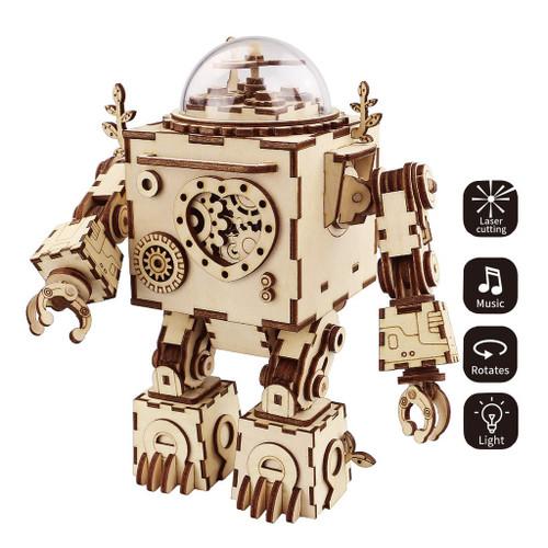 Orpheus Robot Steampunk Music Box | Rokr