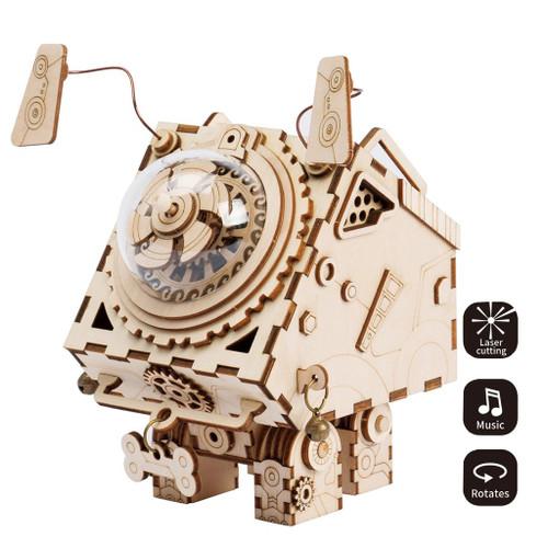 Seymour Steampunk Music Box | Rokr