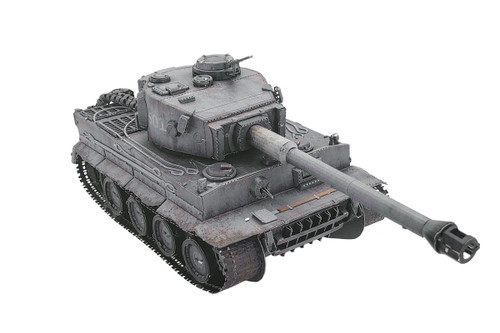 Tiger I Tank Metal Model Kit | MU Models