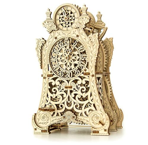 Magic Clock Mechanical Wooden Model Kit | Wooden City