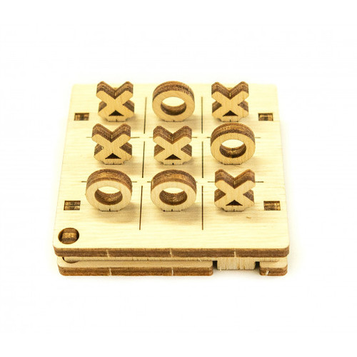 Tic Tac Toe Wooden Game | Wooden City
