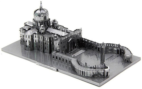 St. Peter's Basilica DIY Metal Model Kit | Microworld