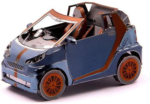Smart Car Convertible Metal Model Kit | Microworld