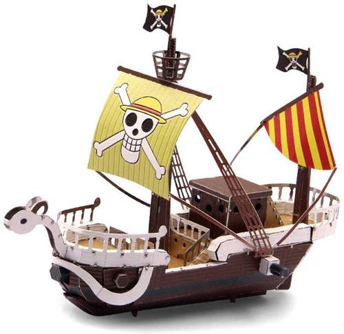 Going Merry Pirate Ship (Straw Hat Pirates) Metal Model Kit   Microworld