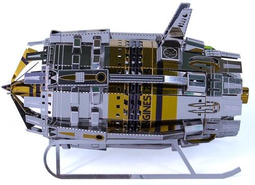 Turbogenerator Metal Model Kit   Microworld