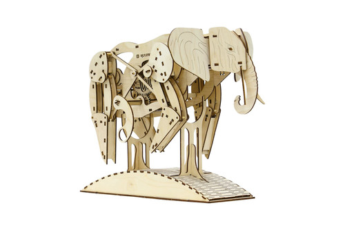 Elephant Mechanical Model Kit | Mr. Playwood
