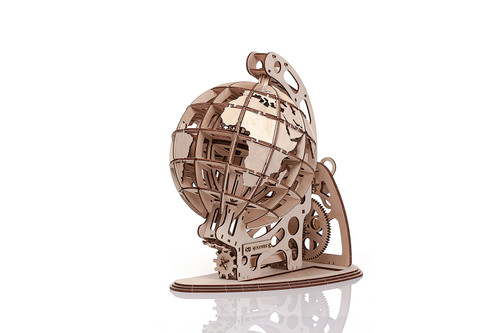 Globe Mechanical Wooden Model Kit | Mr. Playwood