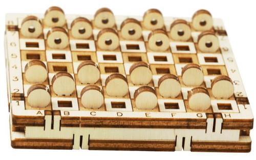 Tiny Pocket Checkers Kit | Mr. Playwood