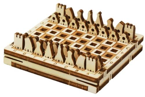 Tiny Pocket Chess Kit | Mr. Playwood