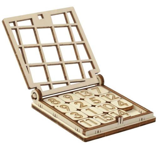 "Tiny Pocket ""Fifteen"" Game Kit | Mr. Playwood"