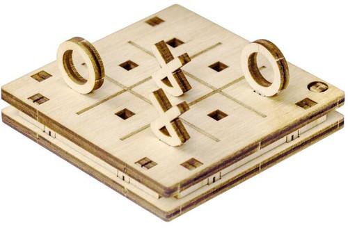 Tiny Pocket Tic-Tac-Toe Kit Version 2 | Mr. Playwood