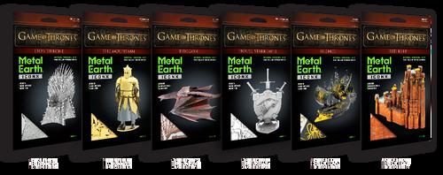 Bundle: All 6 Metal Earth Game of Thrones - GoT - Model Kits