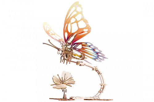 Butterfly Mechanical Wooden Model Kit | UGears