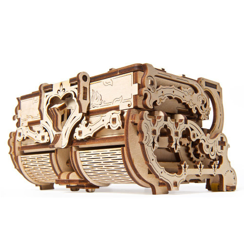 Antique Box Mechanical Wooden Model Kit | UGears