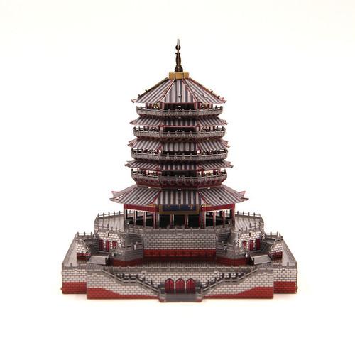 Leifeng Pagoda - Color - Metal Model Kit | Microworld