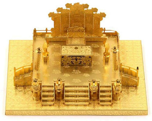 Zhengda Guangming Palace - Gold - Metal Model Kit | Microworld