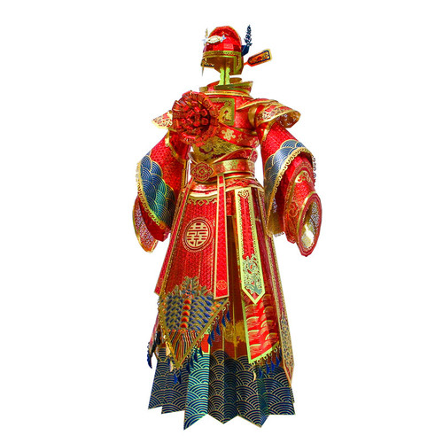 Chinese Wedding Dress - Groom - Metal Model Kit | Microworld