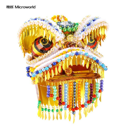 Lion Dance Metal Model Kit | Microworld
