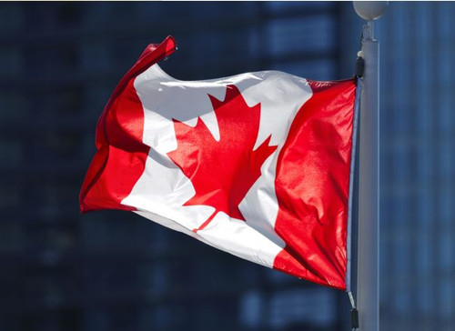 Wentworth Canadian Flag Exclusive Jigsaw Puzzle, 40 Piece