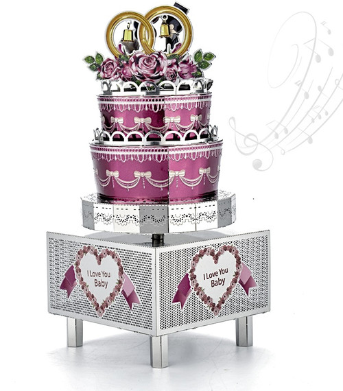 Eternal Love - Metal Music Box DIY Kit | Microworld