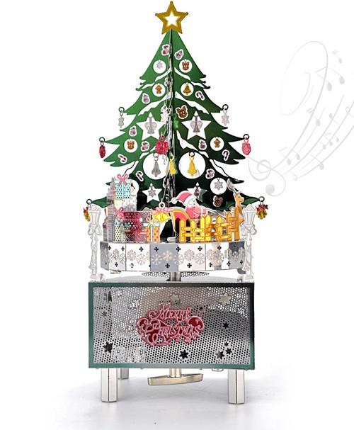 Merry Christmas - Metal Music Box DIY Kit   Microworld