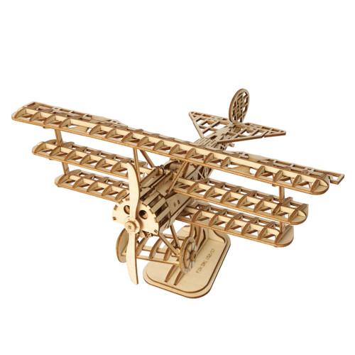 Bi-Plane Rolife Wooden Model Kit | Rolife