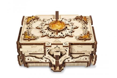 The Amber Box Mechanical Wooden Model Kit | UGears