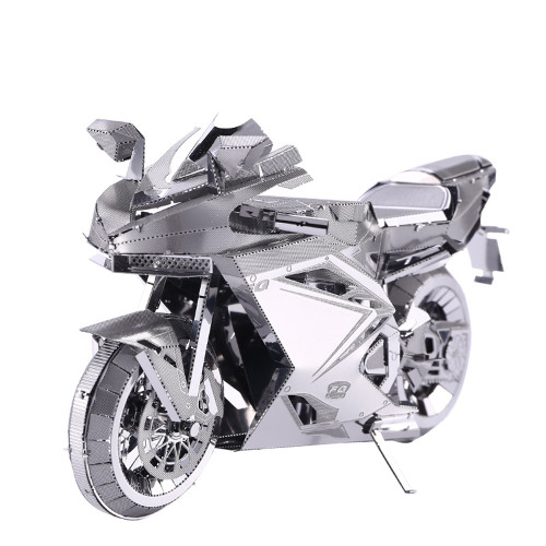 Kawasaki Motorcycle II Metal Model Kit | Piececool