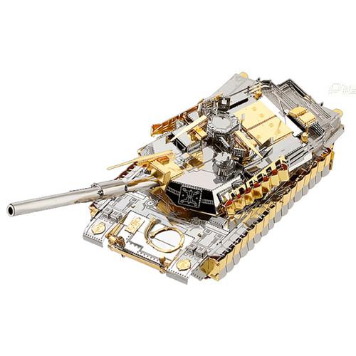 M1A2 SEP TUSK II Tank Metal Model Kit | Piececool
