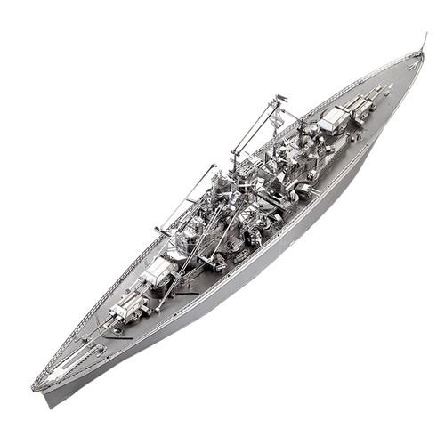 Bismarck Battleship Metal Model Kit | Piececool