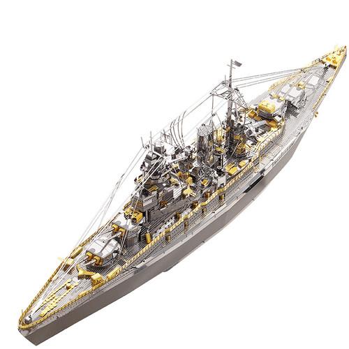 Japanese Nagato Class Battleship Metal Model Kit | Piececool