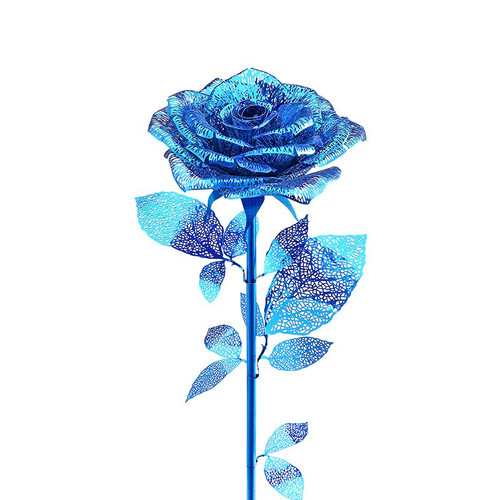Blue Rose Metal Model Kit | Piececool