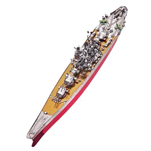 Japanese Yamato Battleship Metal Model Kit | Piececool