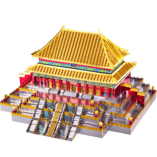 Hall of Supreme Harmony Metal Model Kit | Piececool