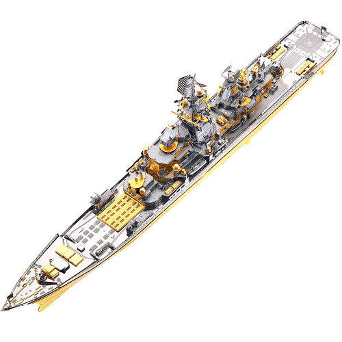 Russian Battlecruiser Pyotr Velikiy Metal Model Kit | Piececool