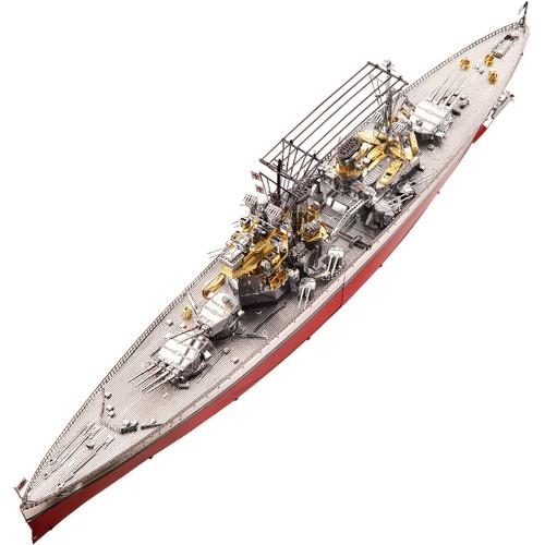 HMS Prince of Wales Battleship Metal Model Kit   Piececool